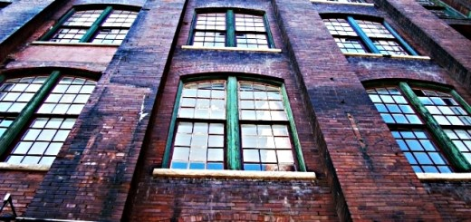 oud gebouw fabriek